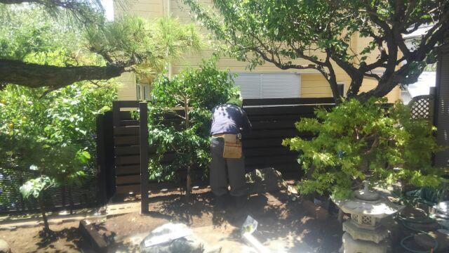 鹿島邸板塀3