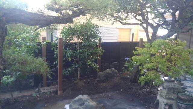 鹿島邸板塀2
